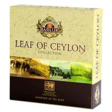 Подарочный набор пакетированный коллекции Лист Цейлона 40х2г