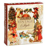 Basilur чай пакетированный в подарочном наборе из коллекции Винтаж
