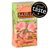 Чай зеленый Basilur БукетКупить  Кремовая фантазия пакетированный 25х1,5г
