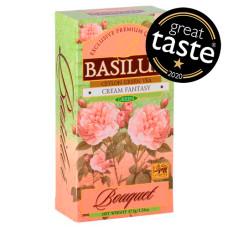Чай зелений Basilur Купити Букет Кремова фантазія пакетований 25х1,5г