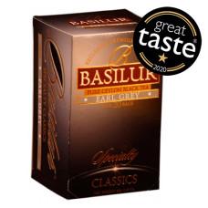 Чай чорний Basilur Обрана класика Ерл Грей пакетований 20х2г