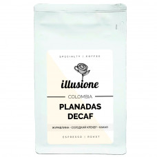 Кофе в зернах illusion Colombia Planadas Decaf 200г