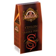 Чай чорний Basilur Обрана класика Цейлонський ОР картон 100г