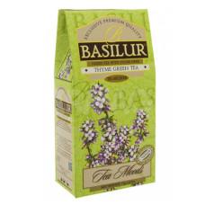 Чай зеленый Basilur Травяные настои Чабрец 75г
