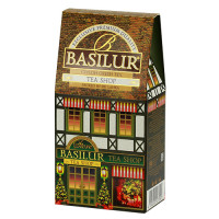 Чай зеленый Basilur Чайный магазин картон 100г