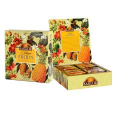 Чай черный Basilur Волшебные фрукты Ассорти пакетированный 40х2гр