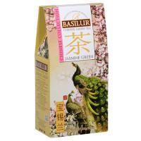 Чай зеленый Basilur Китайская коллекция Жасмин Зеленый картон 100г