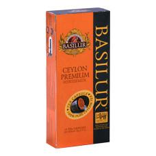 Чай черный Basilur Цейлонский ОР капсулы 10х2г