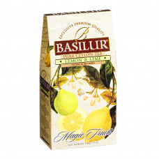 Чай черный Basilur Магические фрукты Лимон и лайм картон 100г