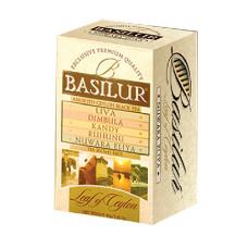 Чай черный Basilur Лист Цейлона Ассорти пакетированный 20х2г