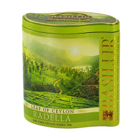 Чай зеленый Basilur Лист Цейлона Раделла 100г