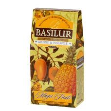 Чай черный Basilur Магические фрукты Манго и ананас 100г
