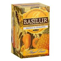 Чай черный Basilur Магические фрукты Манго и ананас пакетированный 20х2г