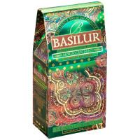 Чай зеленый Basilur Восточная коллекция Марокканская мята картон 100г