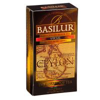 Чай черный Basilur Чайный остров Особый пакетированный 25х2г