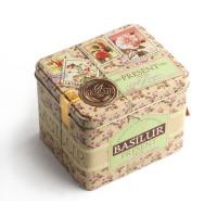 Чай зеленый Basilur Подарок Розовый 100г