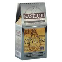 Чай черный Basilur Чайный остров Платинум картон 100г