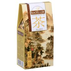 Чай черный Basilur Китайская коллекция Пу-эр картон 100г