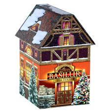 Чай черный Basilur Рождественский домик 100г