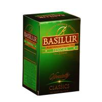 Чай зеленый Basilur Избранная классика Сенча пакетированный 20х1,5г