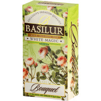 Чай зеленый Basilur Букет Белое волшебство пакетированный 25х1,5г