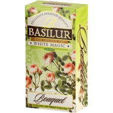 Чай зелений Basilur Букет Біле чарівництво пакетований 25х1,5г