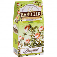 Чай зелений Basilur Букет Біле чарівництво картон 100г