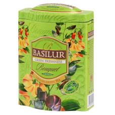 Чай зеленый Basilur Букет Зелёная свежесть 100г