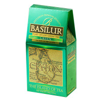 Чай зеленый Basilur Чайный остров Зеленый картон 100г