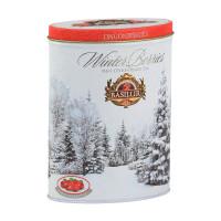 Чай черный Basilur Зимние ягоды Брусника 100г
