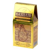 Чай черный Basilur Чайный остров Золотой картон 100г