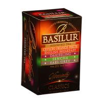 Чай Basilur Избранная классика Ассорти пакетированный 20х2г
